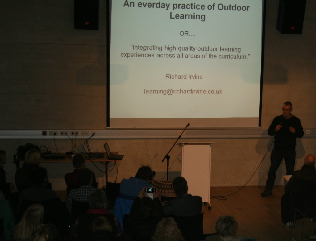 Richard presenting at SNU seminar in Reykjavik 2014