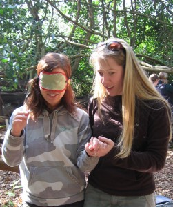Exeter University PGCE students Forest School Experience