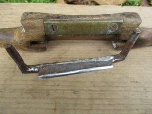 disassembled spoke shave
